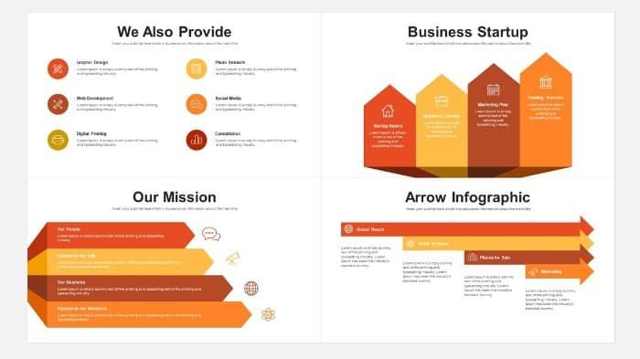 Business Pitch Deck PowerPoint Template