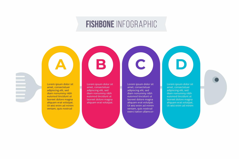 free fishbone diagram PowerPoint template