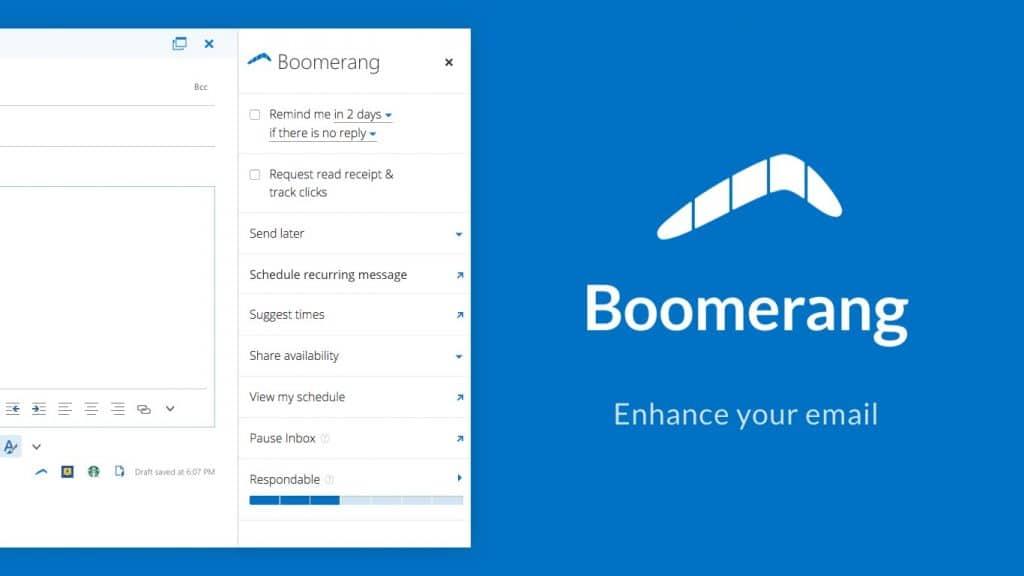 Boomerang Emails
