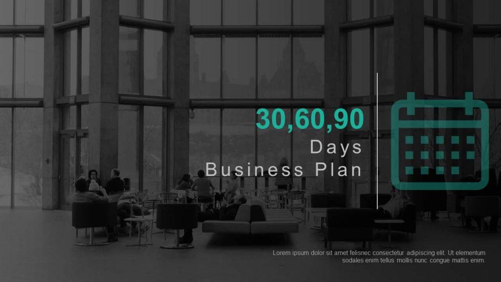 30 69 90 days business plan template