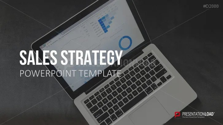 free sales strategy plan PPT template