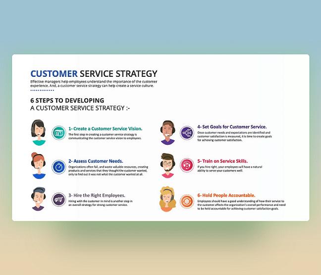 customer-service-strategy-ppt-free-presentation-slide