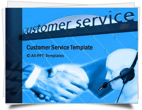 PowerPoint Customer Service PowerPoint template