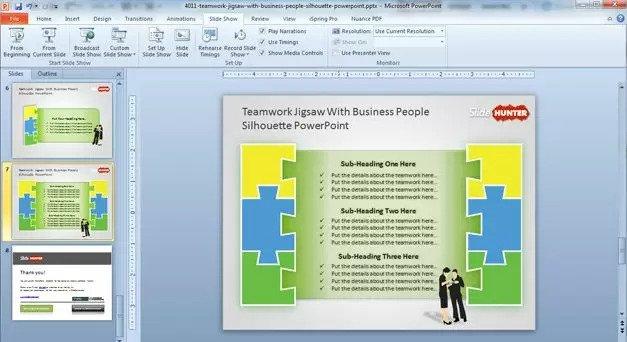 free teamwork PowerPoint templates