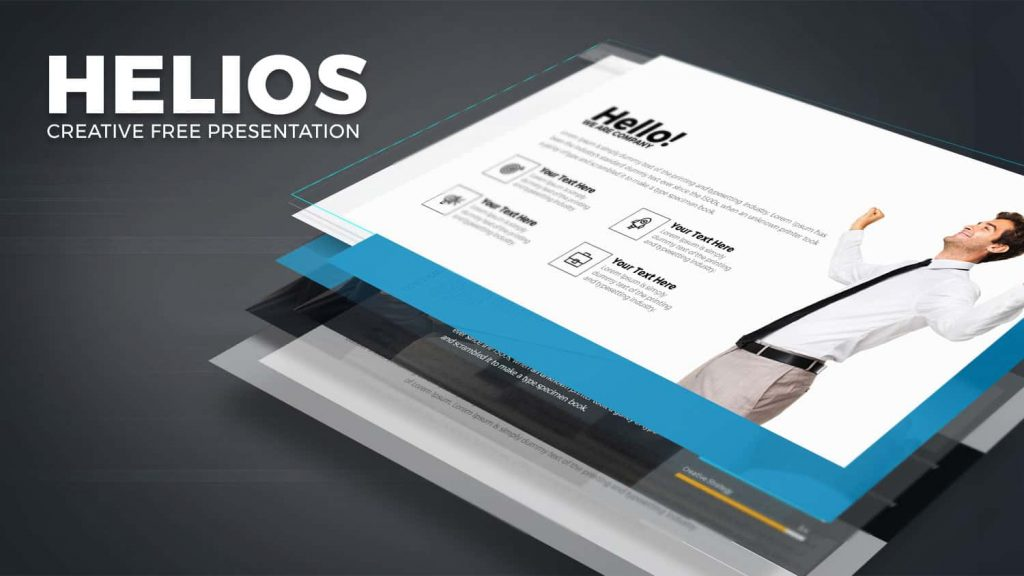HELIOS free team building PowerPoint templates
