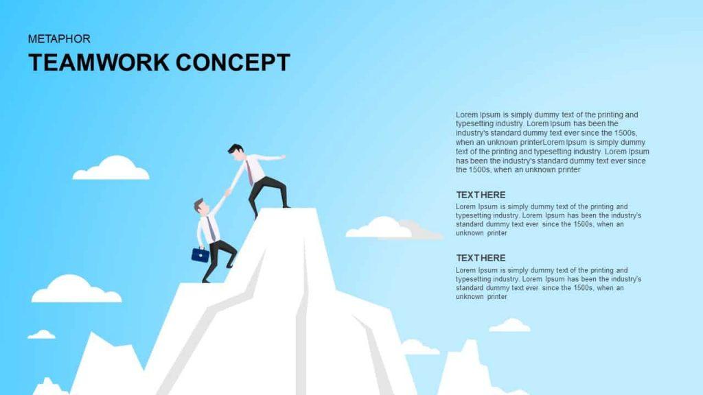 teamwork PowerPoint presentation template