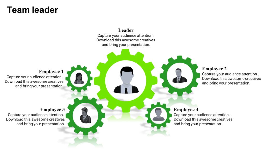 free leadership team building template