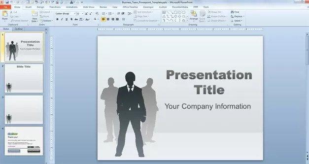 team building ppt presentation