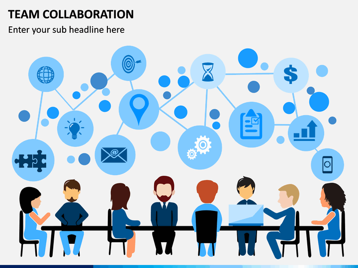 team collaboration PowerPoint template
