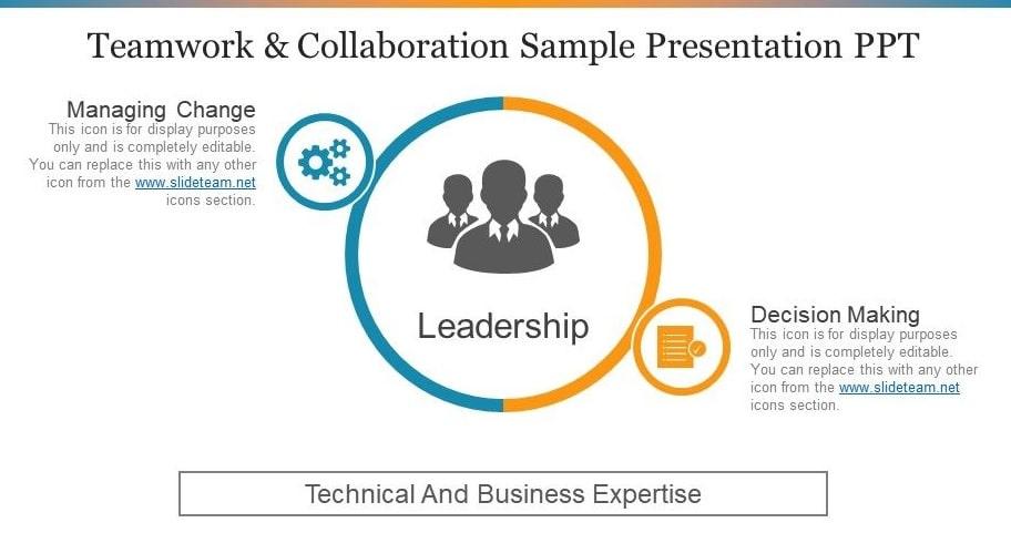 team and collaboration sample presentation ppt