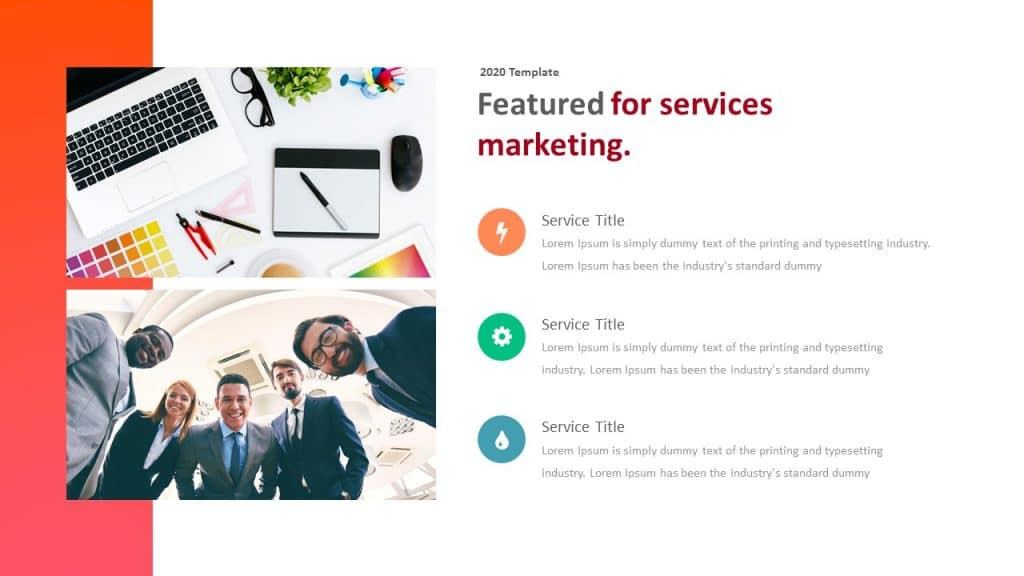 free teamwork presentation corporate template