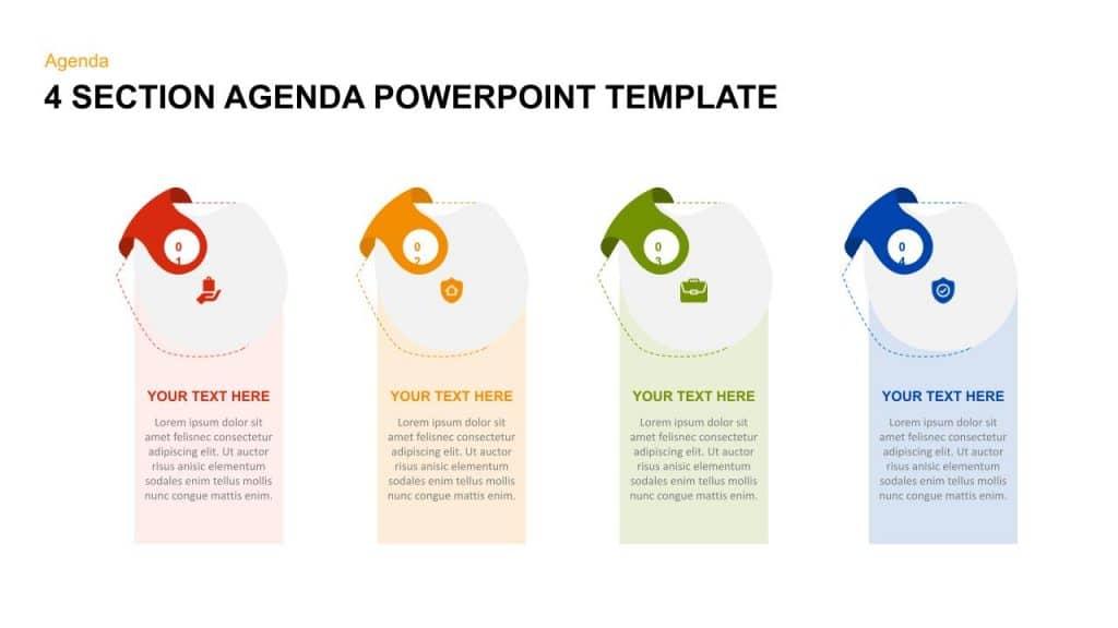 free agenda timeline google slides templates