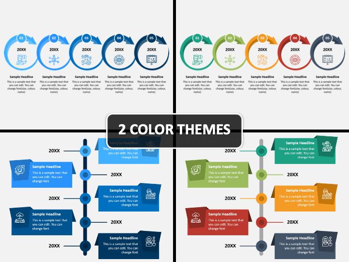 free Google slides timeline templates