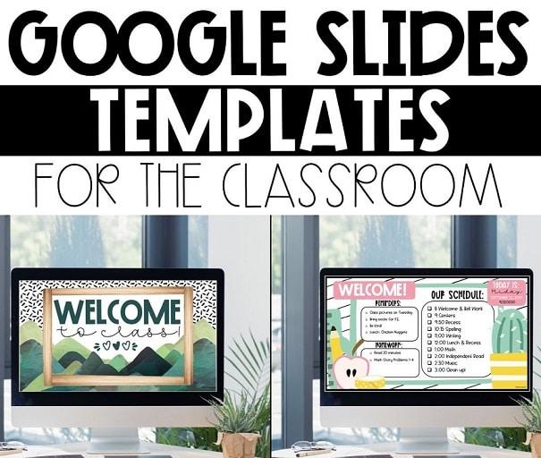Google slides templates for teachers