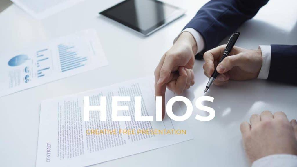 HELIOS Google Slides themes