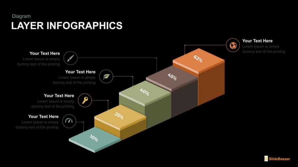 free layer infographics timeline free google slides