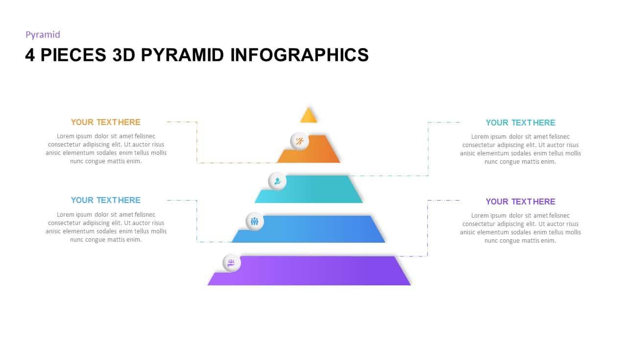 Free 3D pyramid shape