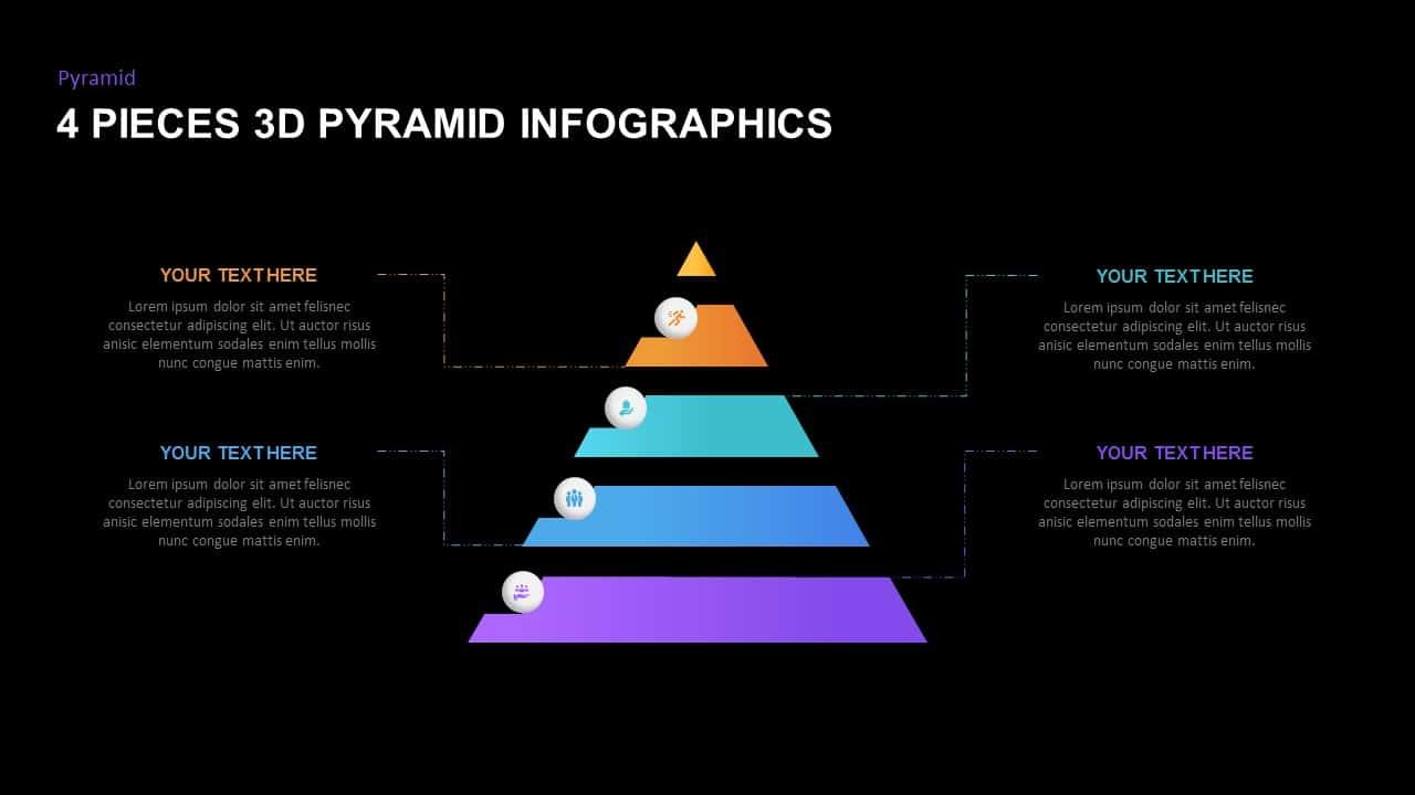 Free dark 3D Pyramid