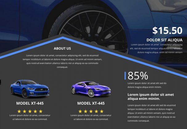 free auto sales brochures