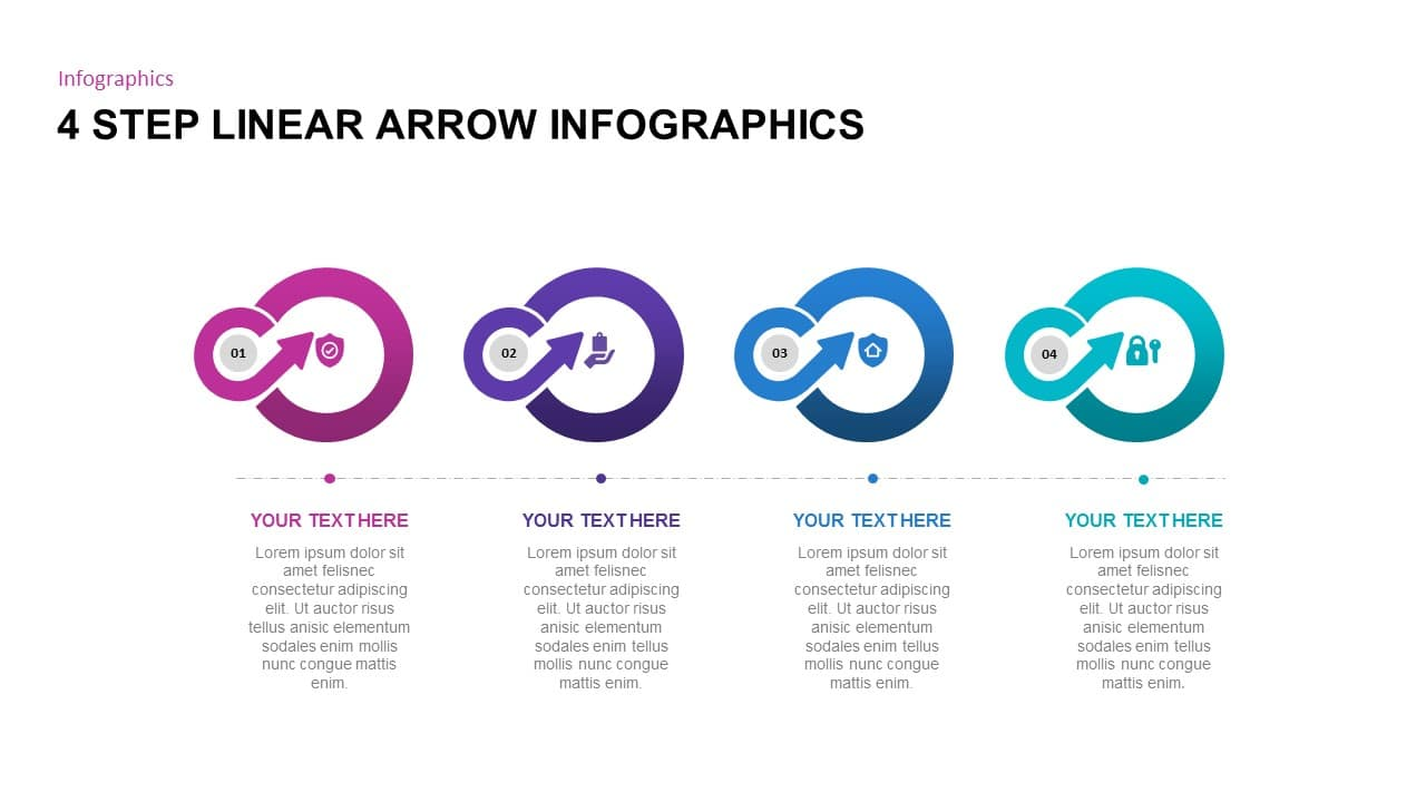 Free Arrow Diagram PowerPoint Templates