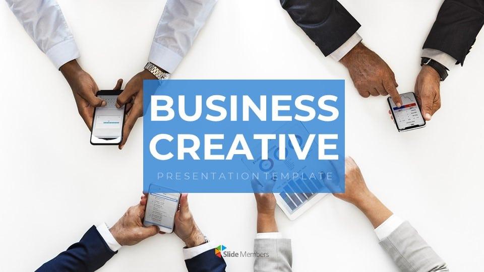 business creative free themes Google slides
