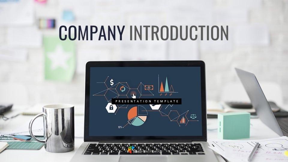 company presentation Google presentation template