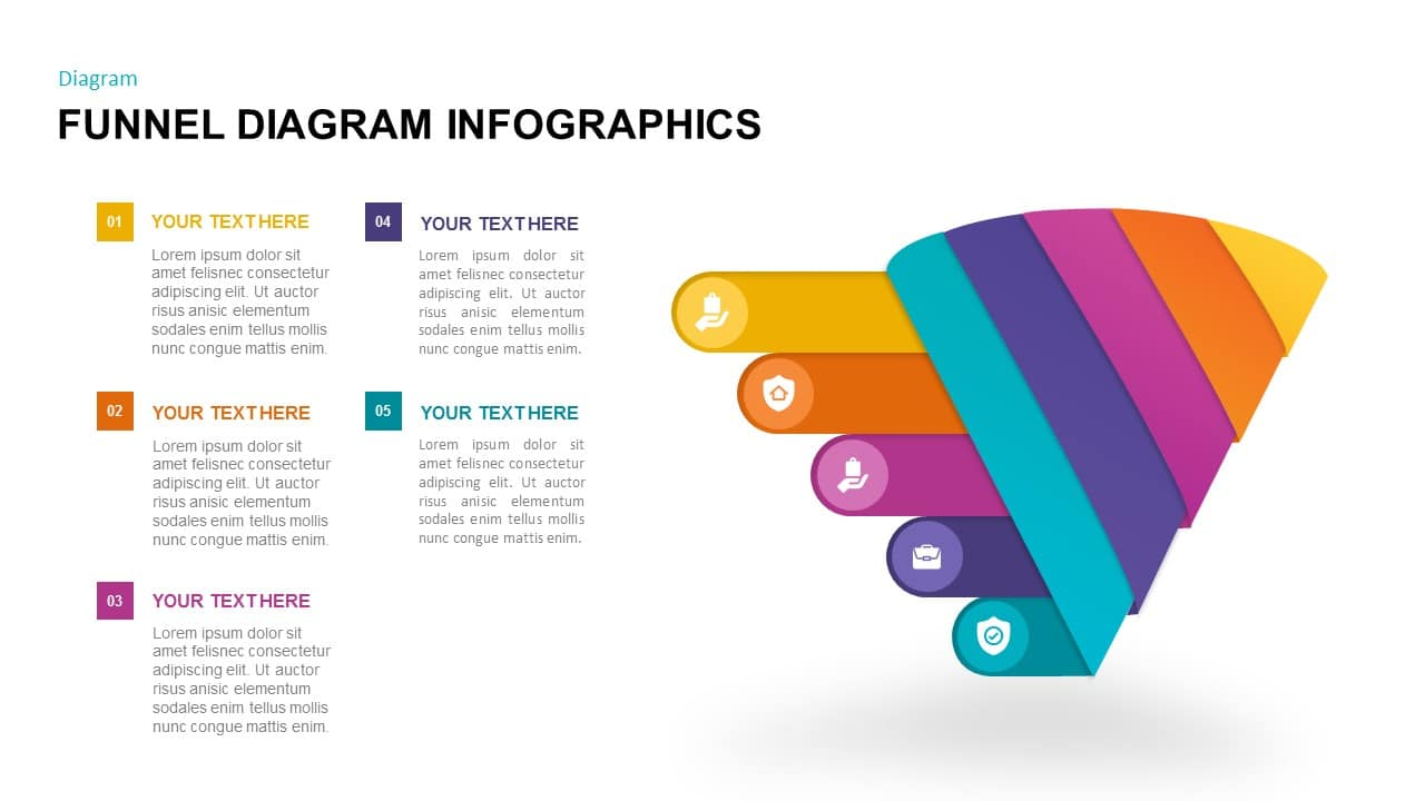 free funnel infographic template