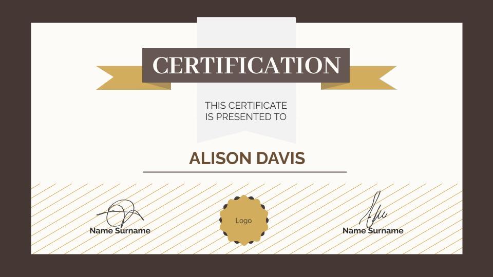 free college achievement certificate