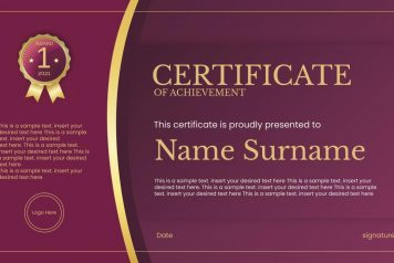 free certificate PowerPoint templates & Google Slides