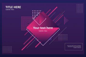 best free Google slides poster templates