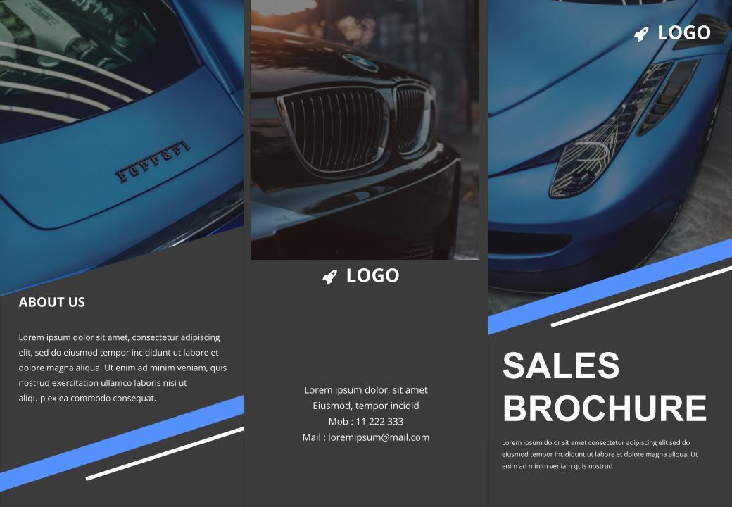 free sales brochure google slides templates