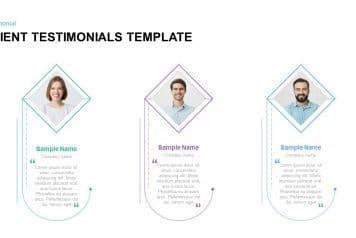 free client testimonial template