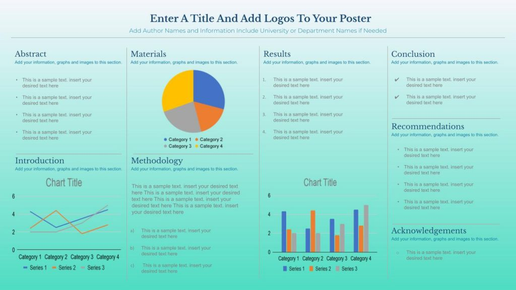 Free Research Poster Google Slides Templates