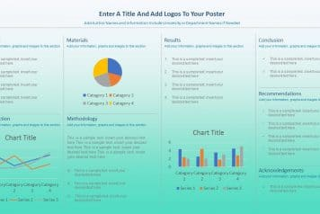 free research poster templates