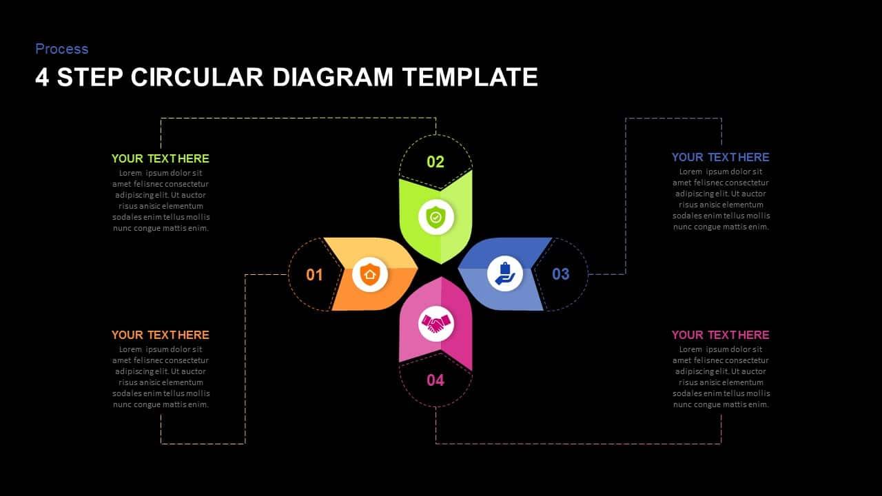 dark free circular diagram