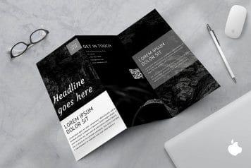 Free Business Model Canva Brochure