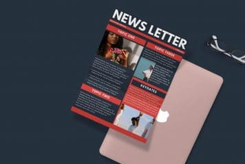 Free Business Newsletter Canva Templates