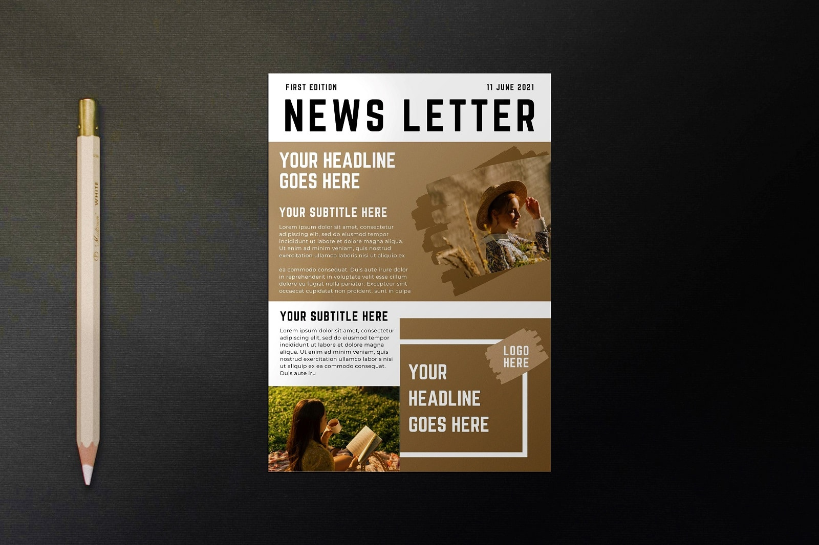 Free Canva Email Newsletter Templates