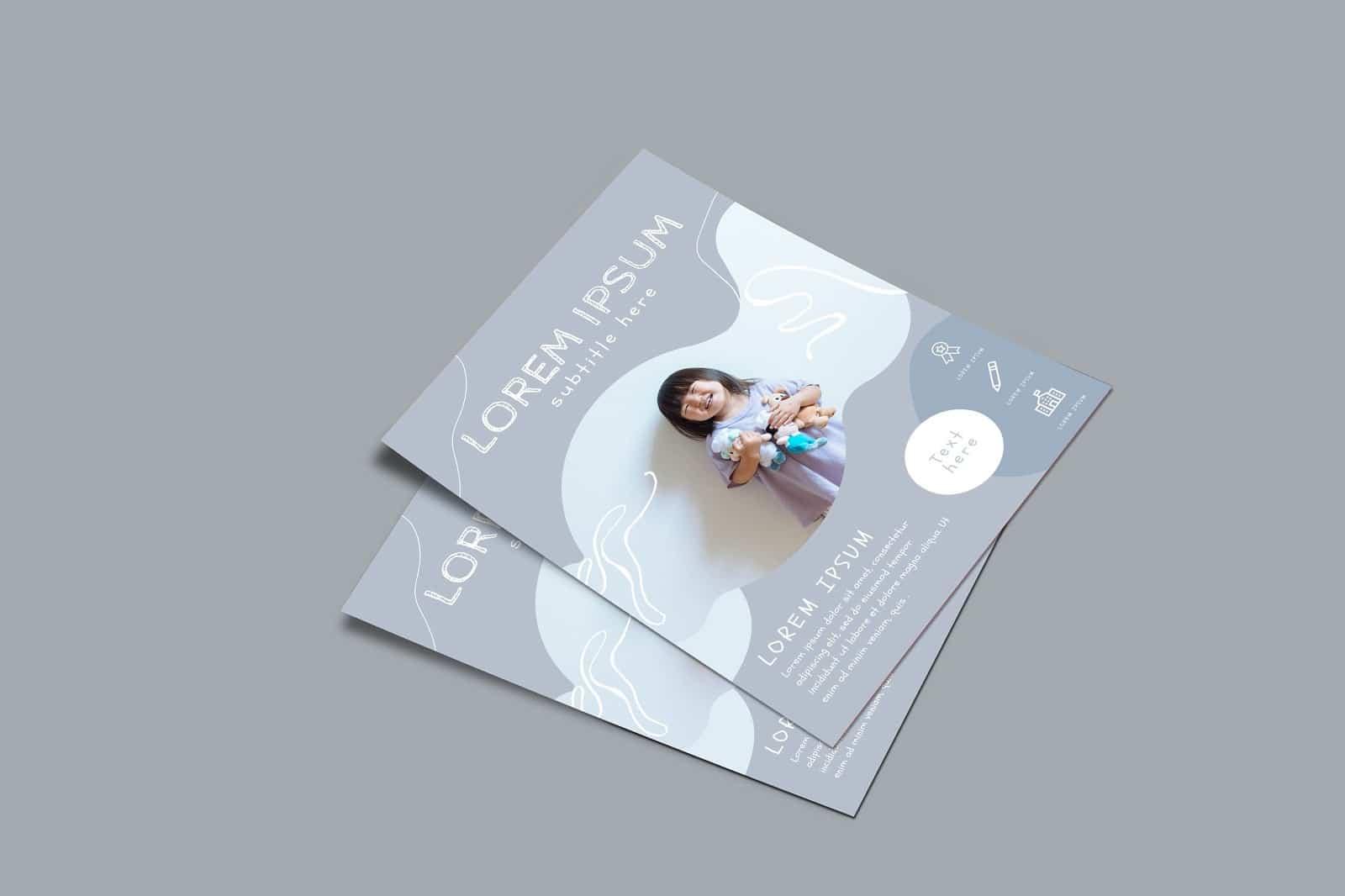 Free Canva Kids Flyer Templates