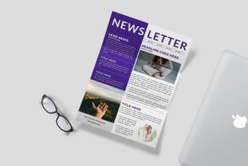 Free Canva Newsletter Design Templates