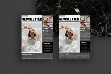 Free Canva Professional Newsletter Templates
