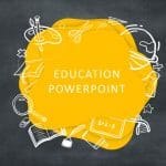 Free Chalkboard Education Deck Google Slides and PowerPoint Templates