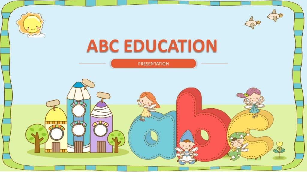free google slides template education