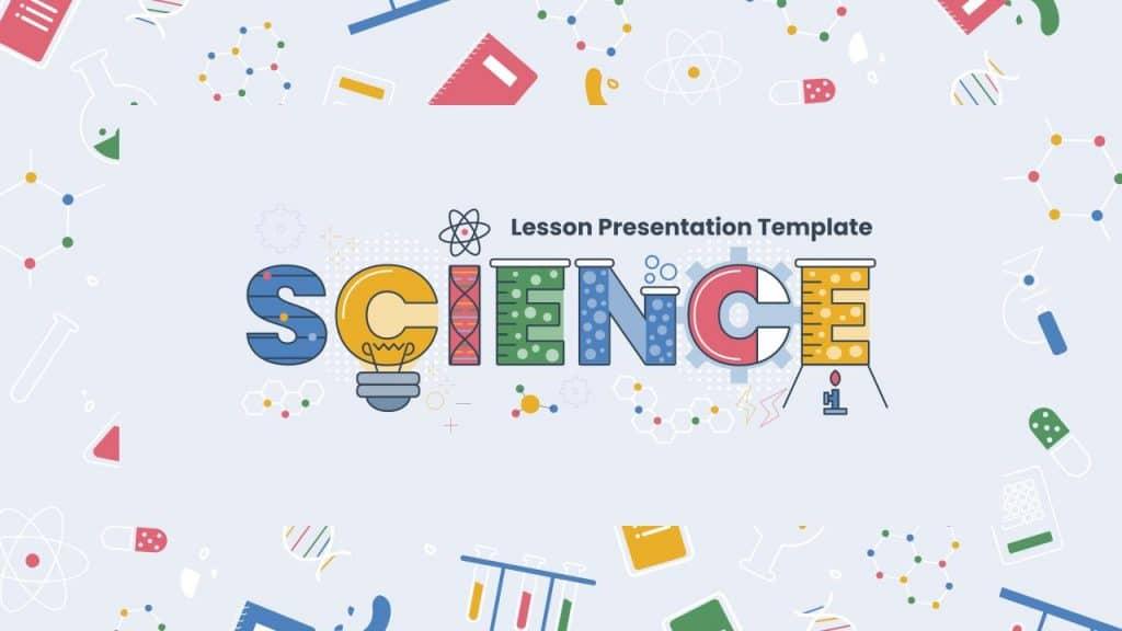 free science lesson google slides templates