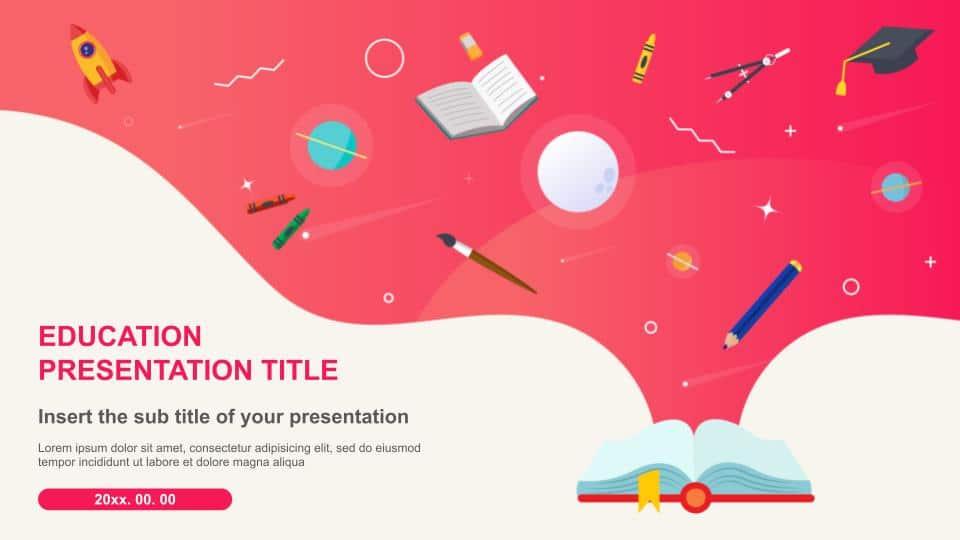 Free google slides themes education template