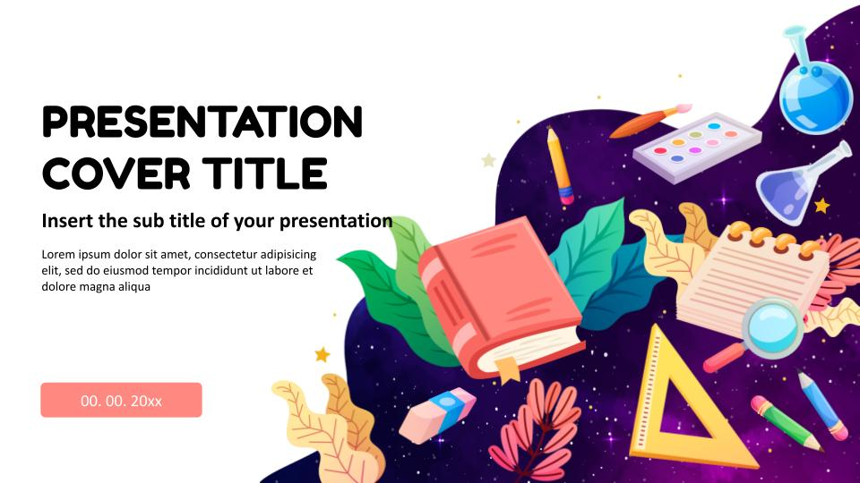 educational google slides and PowerPoint templates
