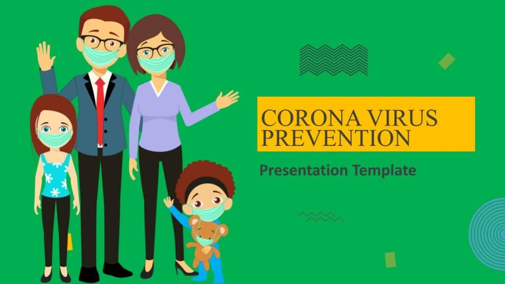 free corona prevention deck template