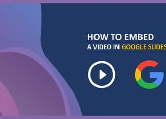 how to embed a video in google slides