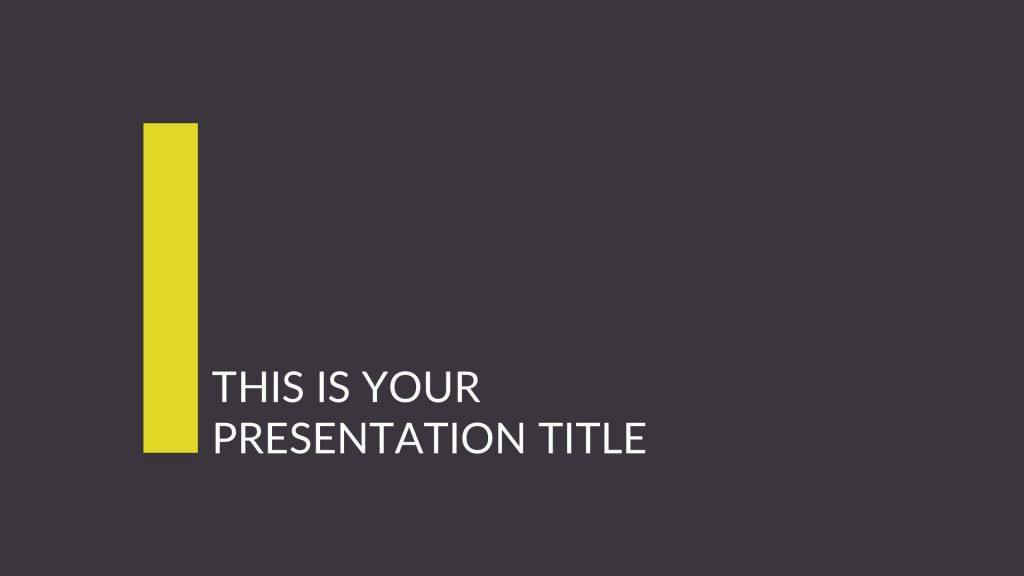 Free Business Project Proposal Google Slides