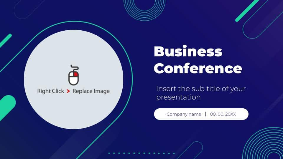 free google slides business conference deck templates